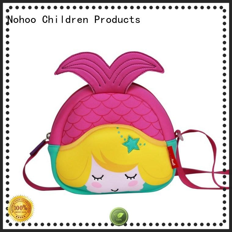small messenger bag bag children mermaid Nohoo Children Products Brand personalized messenger bags