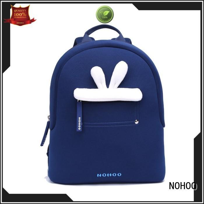 popular neoprene toddler backpack 3d cartoon factory for child