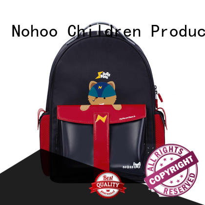 NOHOO reliable polyester school bags factory price for preschool