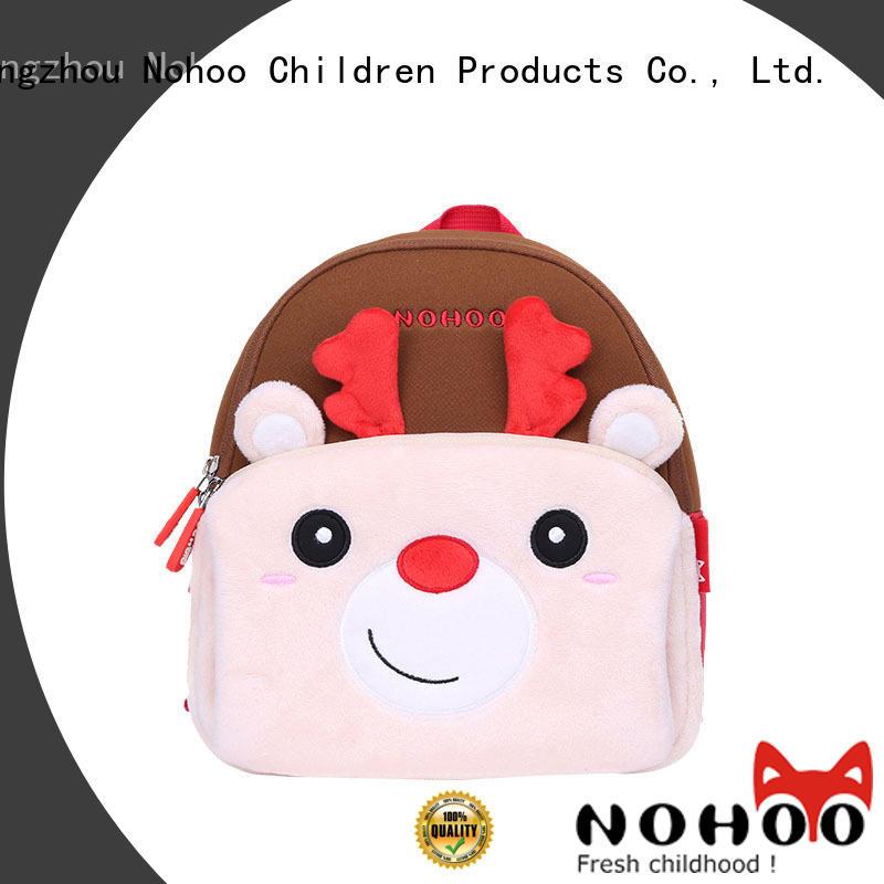 animal travel sling bag factory for children