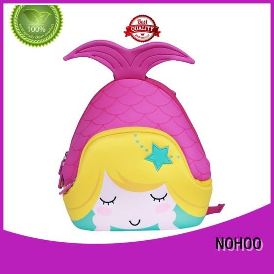 NOHOO large capacity preschool girl backpacks personalized for primary students