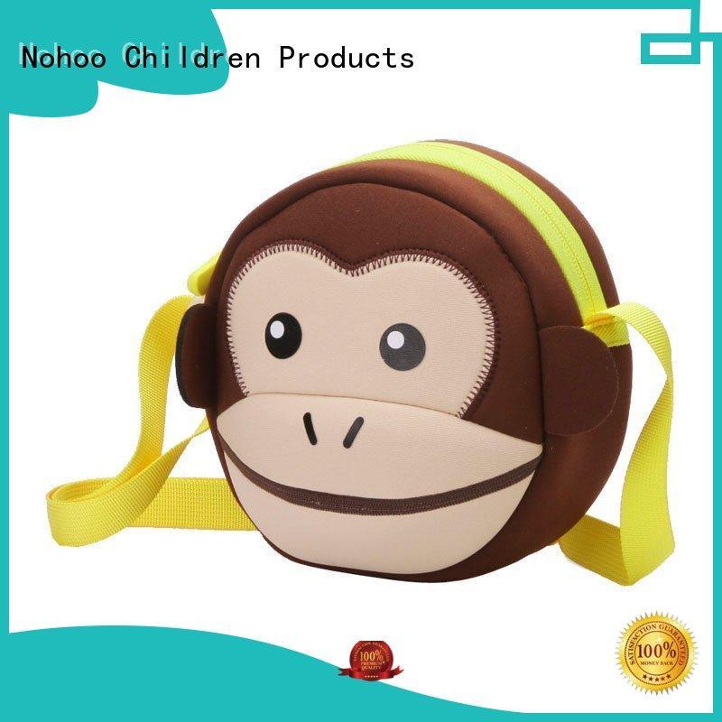 Nohoo Children Products colorful over shoulder messenger bag large capacity for girls