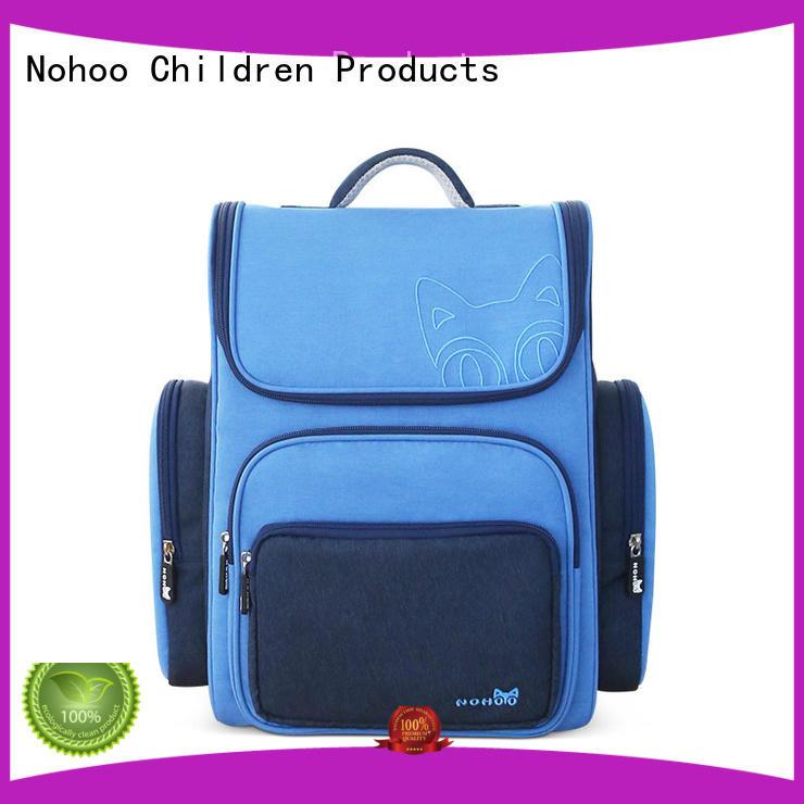 design Canvas children school bag wholesale for boys