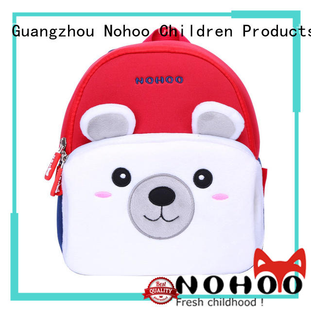 NOHOO animal printed backpacks outdoor for child