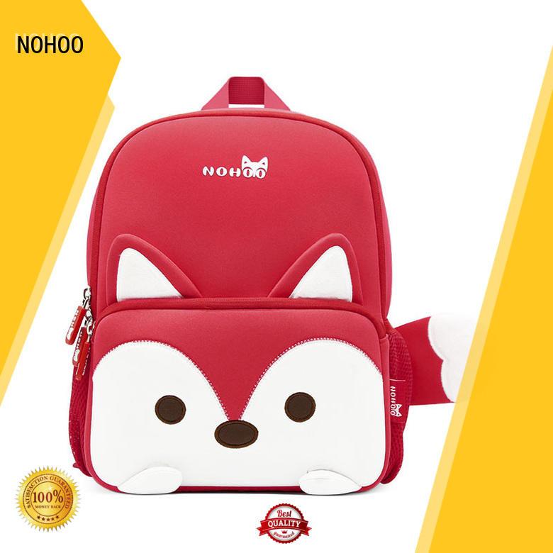 NOHOO animal luxury baby bags design for children