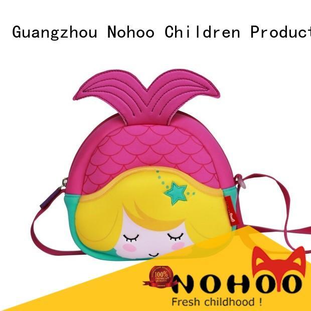 NOHOO reflector custom messenger bags wholesale for kindergarten