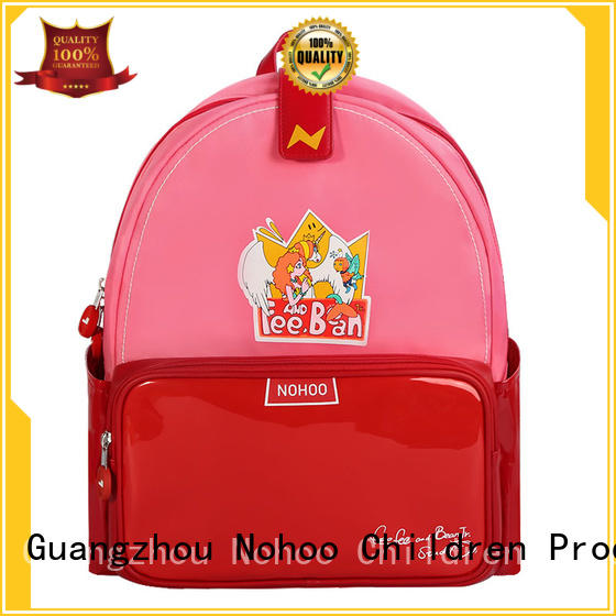 professional canvas children school bag student supplier for preschool