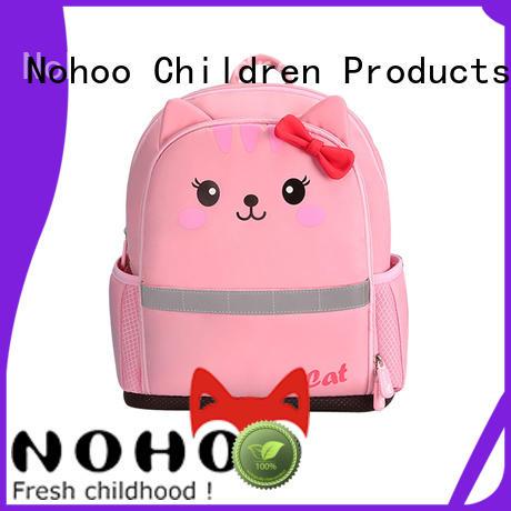 Nohoo Children Products durable Canvas children school bag weight for preschool