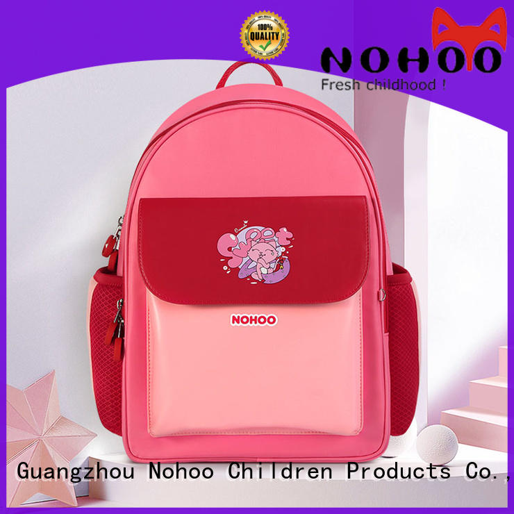 NOHOO nohoo canvas school bag wholesale for children