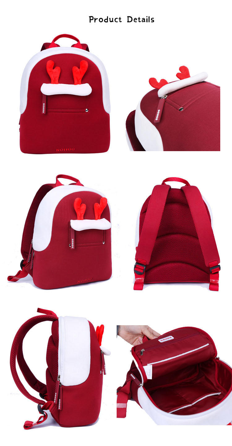 Nohoo Children Products-Nhq009 Manufacturer Direct Selling Parent-child Travelling Backpack Family