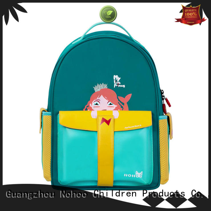 NOHOO quality polyester school bag factory price for girls