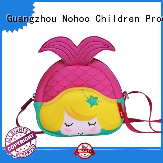girls crossbody messenger bag 3d printing for preschool Nohoo Children Products