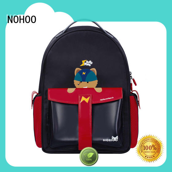 NOHOO bag polyester backpack supplier for girls