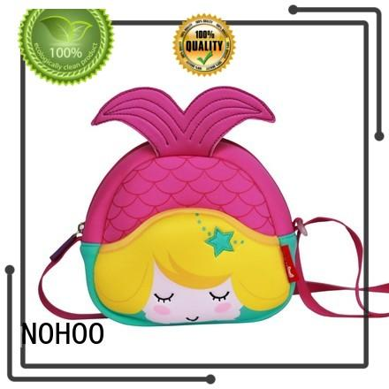 NOHOO colorful children's messenger bag factory price for preschool