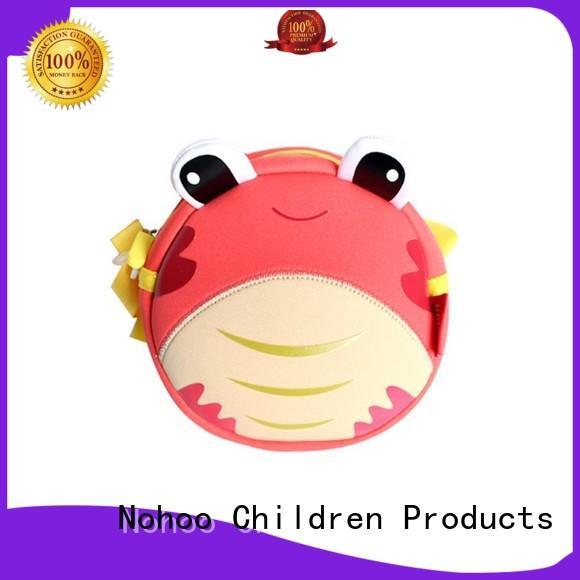 NOHOO elegant messenger bag backpack personalized for children