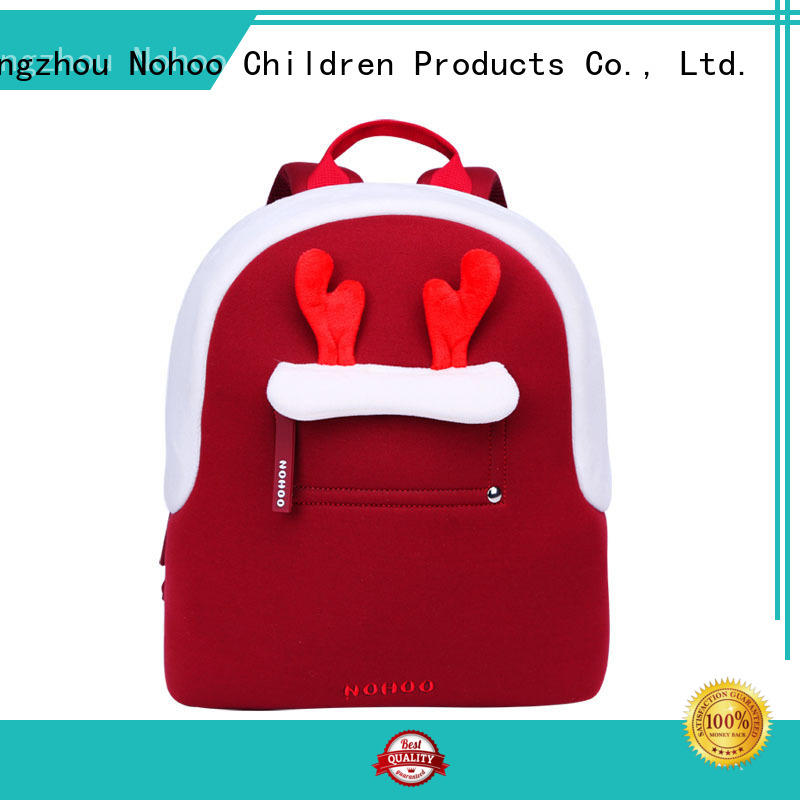 printed backpacks plush for travel Nohoo Children Products