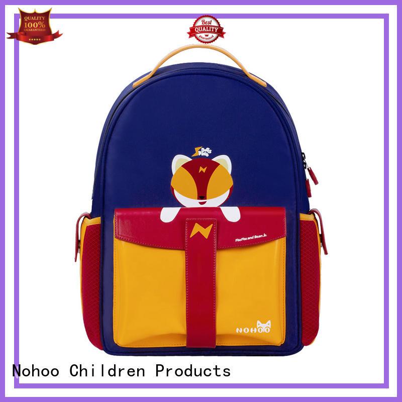 quality canvas children school bag weight factory price for preschool