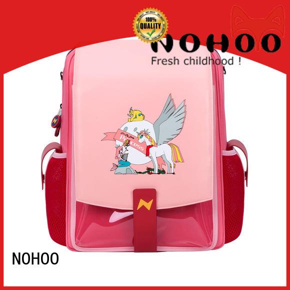 NOHOO lightweight polyester school bag supplier for kindergarten