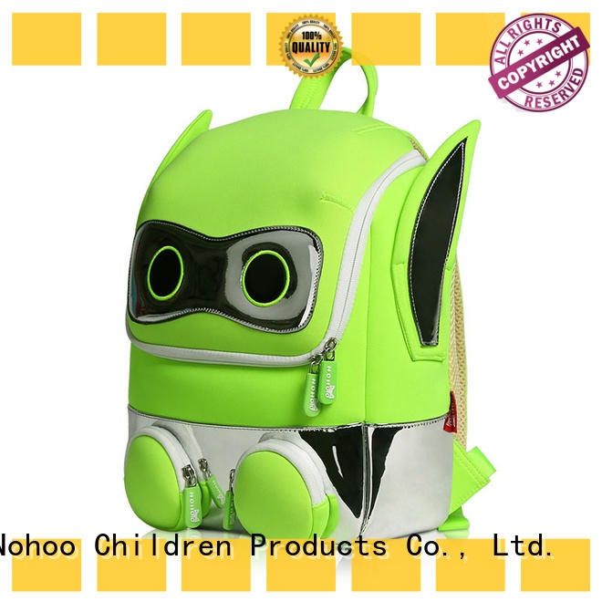 NOHOO robot toddler girl bookbags mermaid for primary students