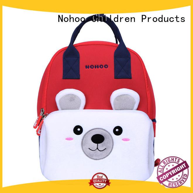 waterproof black sling bag design for preschool Nohoo Children Products